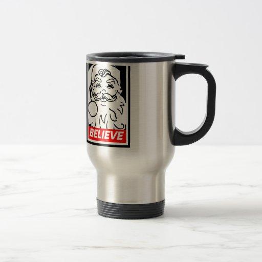 Père Noël : CROYEZ Tasse À Café