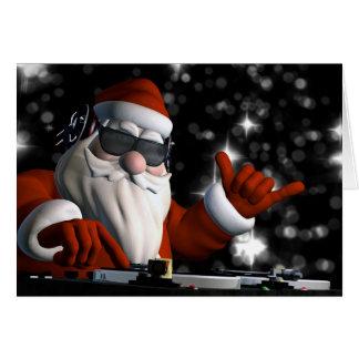 Père Noël dans la Chambre du DA Carte De Vœux