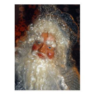 Père Noël dans l'atelier Carte Postale