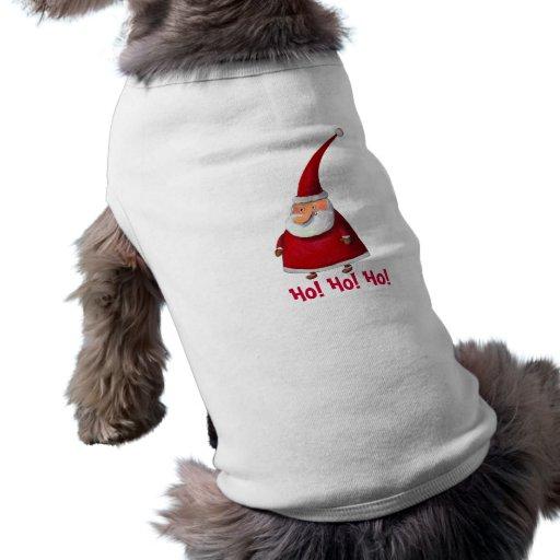 Père Noël drôle Manteaux Pour Animaux Domestiques