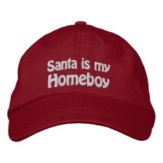Père Noël est mon Homeboy Casquette Brodée