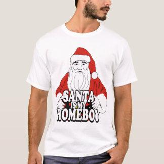 Père Noël est mon homeboy T-shirt