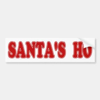 Père Noël Ho Autocollants Pour Voiture