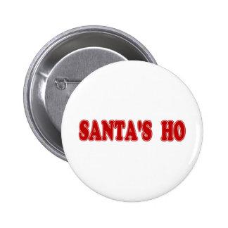 Père Noël Ho Pin's Avec Agrafe