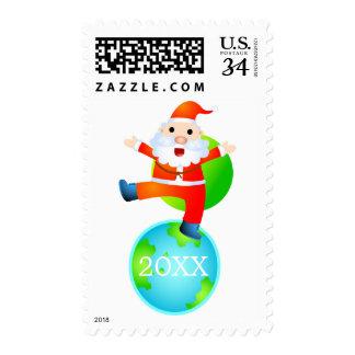 Père Noël sur le toit du monde