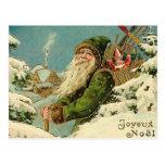 Père Noël vintage - Joyeux Noel Cartes Postales