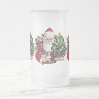Père Noël vintage Tasse À Café
