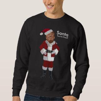 Père Noël vous êtes mis le feu ! Sweatshirt