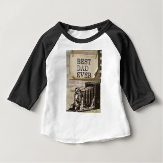 Père T-shirt Pour Bébé