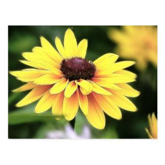 Perfection de jardin - Susan observée par noir Carte Postale