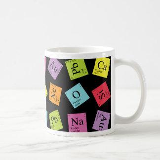 Périodiques élémentaires foncé mug