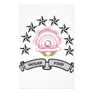 perle de découverte d'océan papeterie