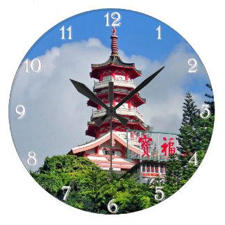 Perle de Hong Kong de l'horloge murale ronde de Grande Horloge Ronde
