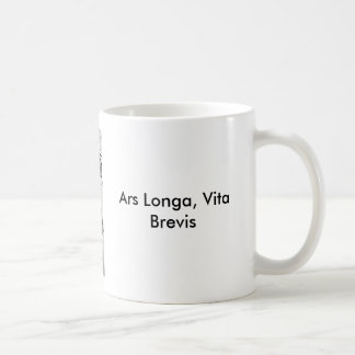 Perle Earing, ARS Longa, Vita brevis Mug Blanc