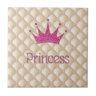 Perles chics avec du charme, diadème, princesse, petit carreau carré