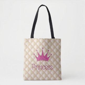 Perles chics avec du charme, diadème, princesse, sac