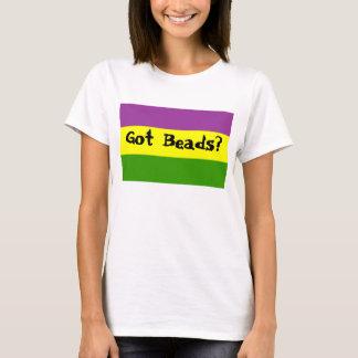 Perles obtenues ? t-shirt