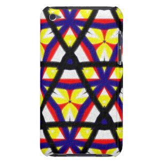 Pern abstrait multicolore coque iPod Case-Mate