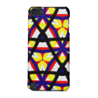 Pern abstrait multicolore coque iPod touch 5G