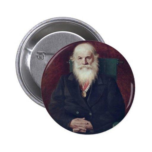 Perov-Portrait de Vasily d'historien Mikhail Pogod Pin's Avec Agrafe