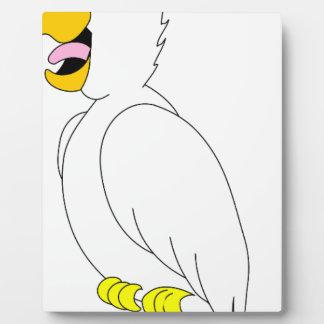 perroquet #3 plaque photo