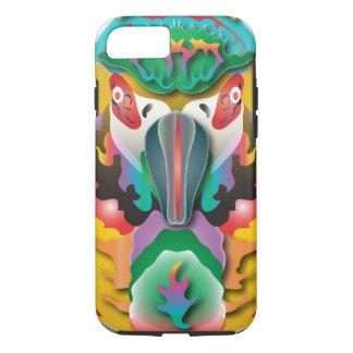 Perroquet abstrait coque iPhone 7