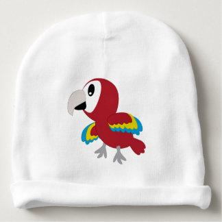 Perroquet - casquette nouveau-né de forêt bonnet de bébé
