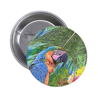 Perroquet d'arums badge