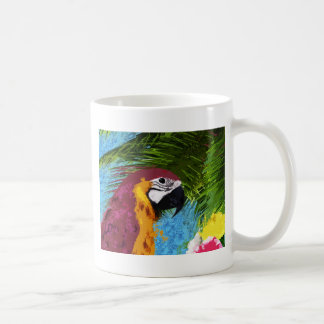 Perroquet d'arums mug