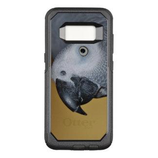 Perroquet de gris africain du Congo bonjour Coque Samsung Galaxy S8 Par OtterBox Commuter