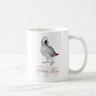 Perroquet de gris africain mug