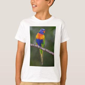 Perroquet de Haematodus de Trichoglossus de T-shirt