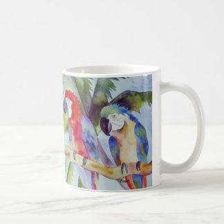 Perroquets dans le paradis mug