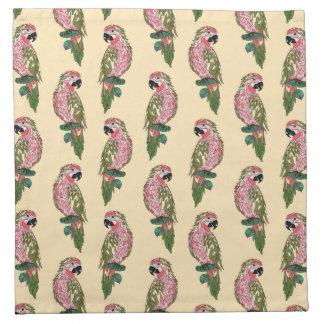 Perroquets de style de Zentangle Serviettes De Table