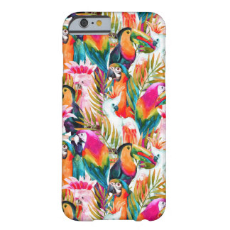 Perroquets et palmettes coque barely there iPhone 6