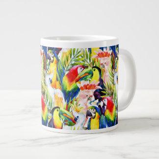 Perroquets et palmettes mug