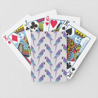 Perroquets pourpres jeu de cartes