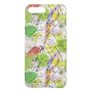 Perroquets tropicaux coque iPhone 8 plus/7 plus