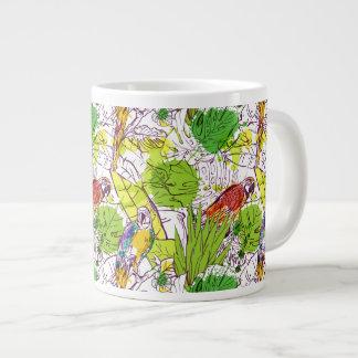 Perroquets tropicaux mug