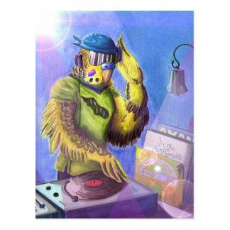 Perruche DJ Cartes Postales