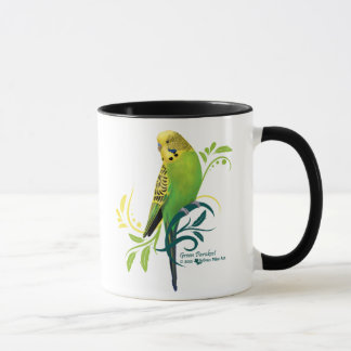 Perruche verte mugs