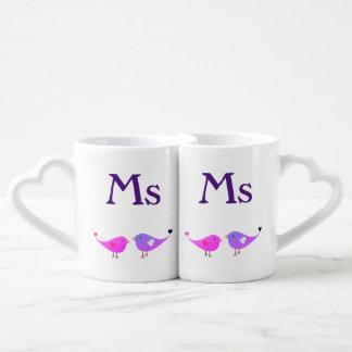Perruches de Mme et de Mme Mug
