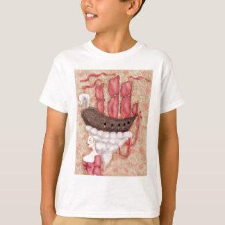 Perruque de bateau t-shirt
