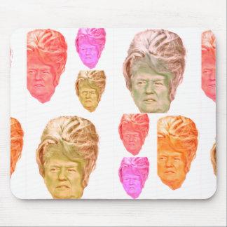 Perruque drôle Mousepad de ruche de Donald Trump Tapis De Souris
