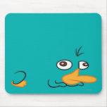 Perry l'ornithorynque tapis de souris