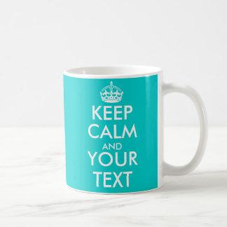 Personalizable gardent la tasse calme avec des