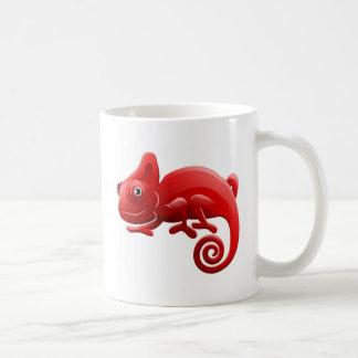 Personnage de dessin animé d'animal de caméléon mug