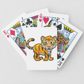 Personnage de dessin animé d'animaux de safari de jeu de cartes