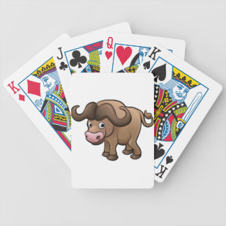 Personnage de dessin animé d'animaux de safari de jeu de poker