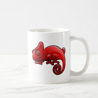 Personnage de dessin animé d'animaux de safari de mug